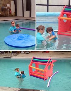cours de natation enfants au Lagon Bleu